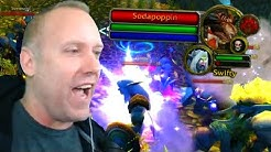 Swifty Gets Stream Sniped By Sodapoppin's Raid (WoW Classic World PvP)