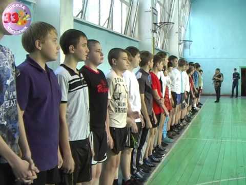 спорт альтернатива пагубным привычкам ШКОЛА 33 Киселевск