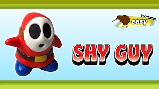 Polymer Clay Fimo - Shy Guy / Maskass - *easy Tutorial*