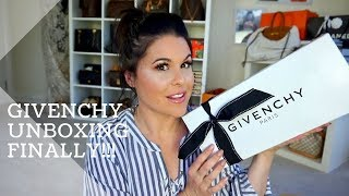 GIVENCHY Unboxing FINALLY! |Jerusha Couture