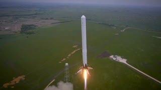 Reusable rocket launches 1st test flight