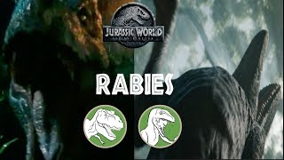 Nublar Diseases - Blue Has Rabies? Rexy Tooth Infection? | New JWFK DPG Report