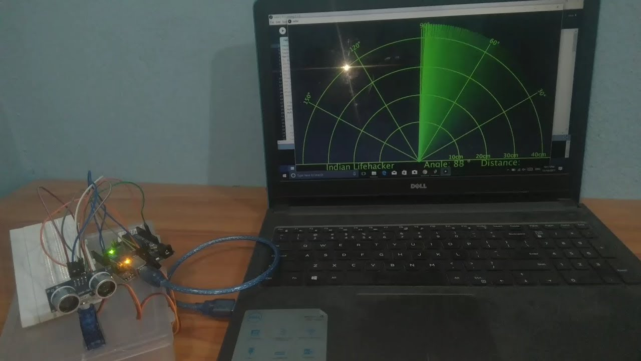 How To Make A Radar With Arduino Project Youtube We Feature Lot Of Different Diy Electronics Projects On Lifehacker