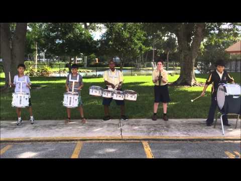 St. Anastasia Royal Ram Band Drumline Movie