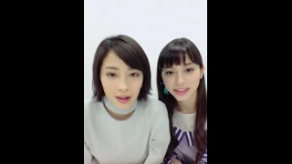 広瀬すず 中条あやみ https://live.line.me/channels/290685/broadcast/...