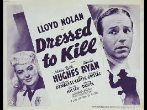 Download Dressed To Kill 1941 Full Movie
