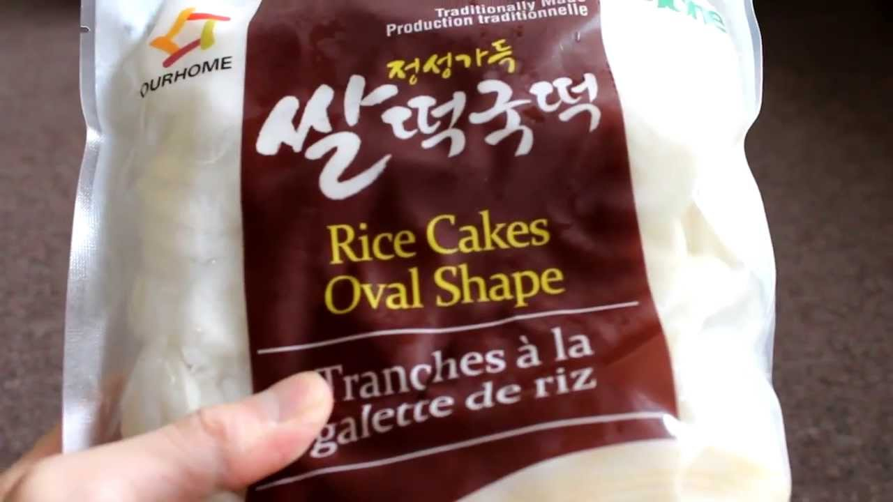 Are Korean Rice Cakes Gluten Free