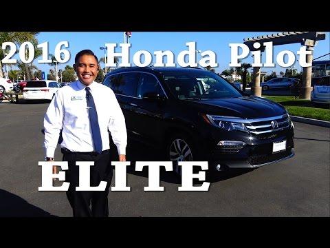 2016 Honda Pilot Elite review 3rd Generation top of the Line model