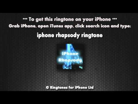 iPhone Rhapsody Ringtone