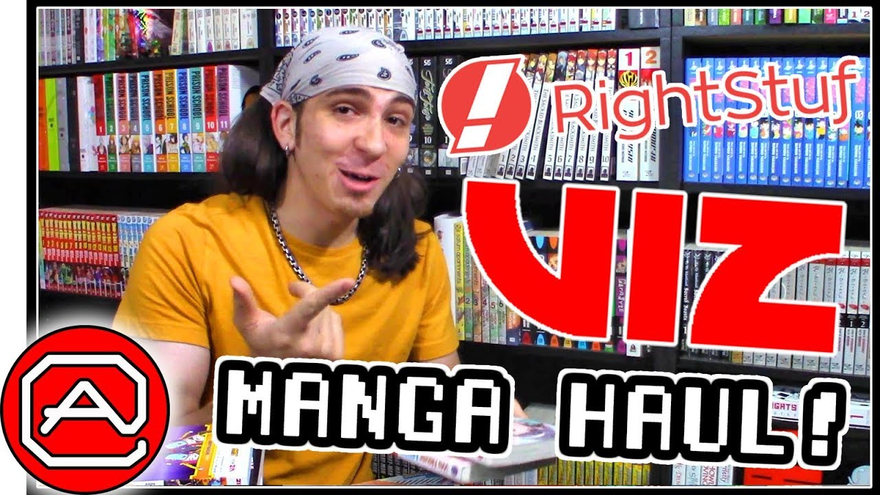 VIZ MANGA HAUL!! ~ RightStuf & Barnes & Noble