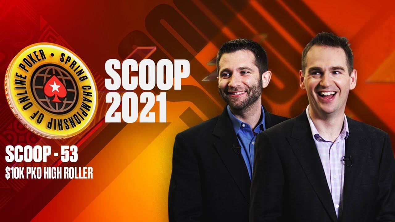 Download $1 MILLION GTD - SCOOP 53H - $10K HIGH ROLLER PKO | CARDS UP ♠️ SCOOP 2021 ♠️ PokerStars