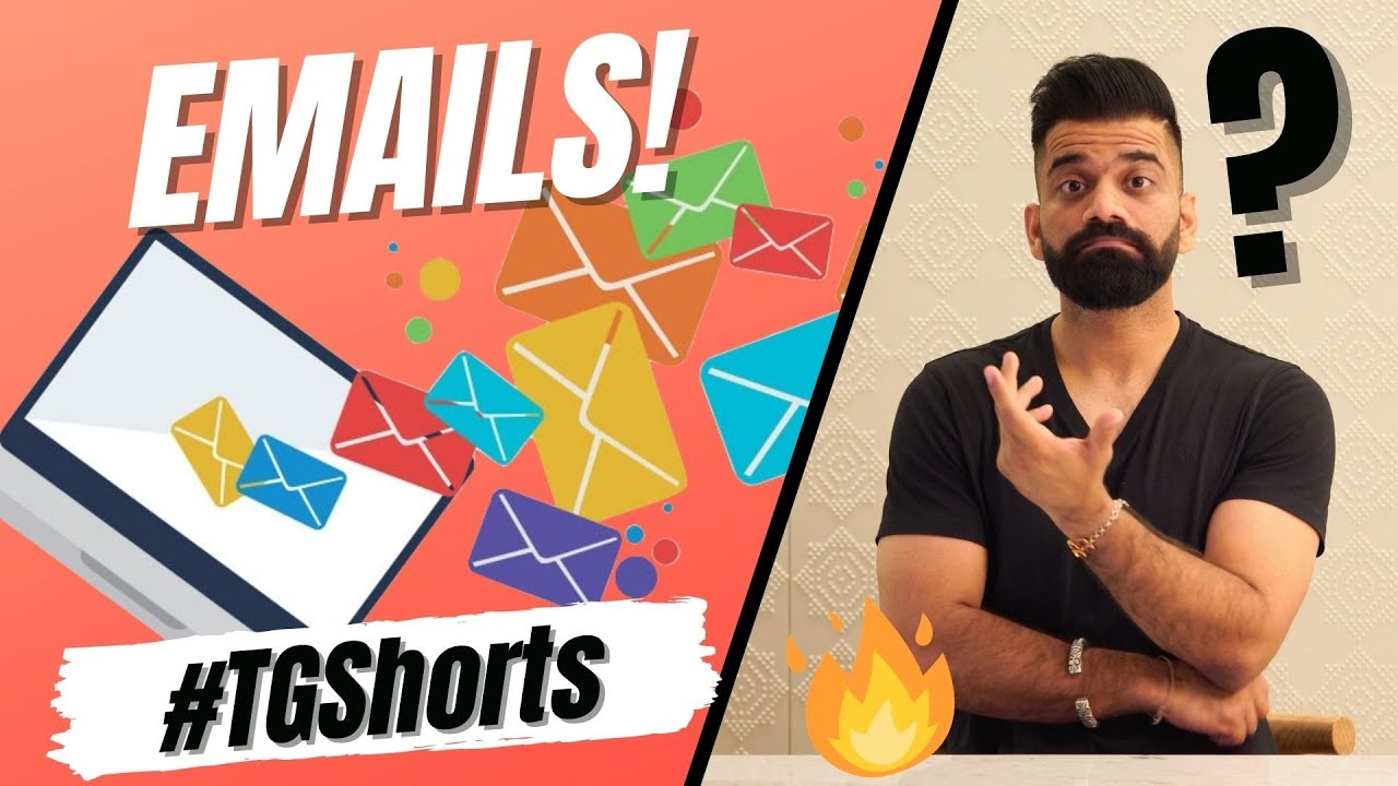 The Reality Of Emails | #TGShorts #Shorts🔥🔥🔥