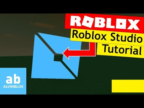 How To Use Roblox Studio 2017 Beginners Tutorial Youtube