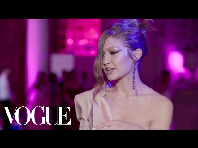 Gigi Hadid on the Inspiration Behind Her Met Gala Dress | Met Gala 2017