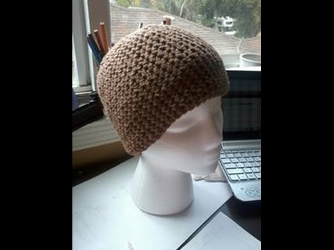Tutorial How To Crochet A Basic Single Crochet Beanie Youtube