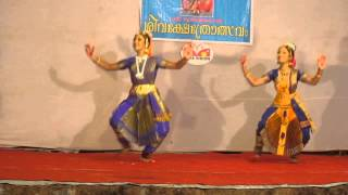 Classical Indian dance in Venkattathevar, Shiva Temple in Kerala