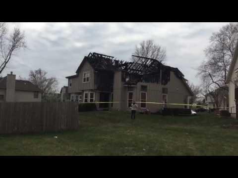 Overland Park community assessing damages after fire