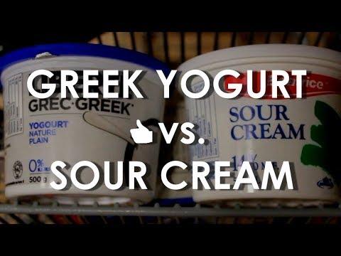 Sour Cream vs Greek Yogurt | Ingredient Comparison