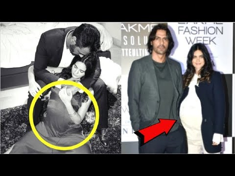 Arjun Rampal Announces PREGNANCY Of Girlfriend Gabriella Demetriades