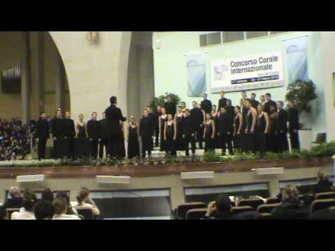 Choir Report: Concorso Corale 2010 - GP Competition - Akustika Chamber Singers (SA)