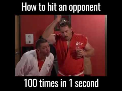 HOW TO HIT OPPONENT 100 TIMES IN 1 SECOND