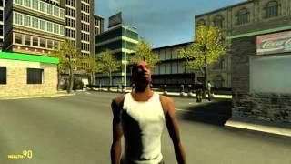 GTA Niko vs CJ(gmod)