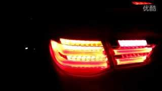 2010-2013 Toyota Mark X / Reiz LED Tail Lamp BMW Style