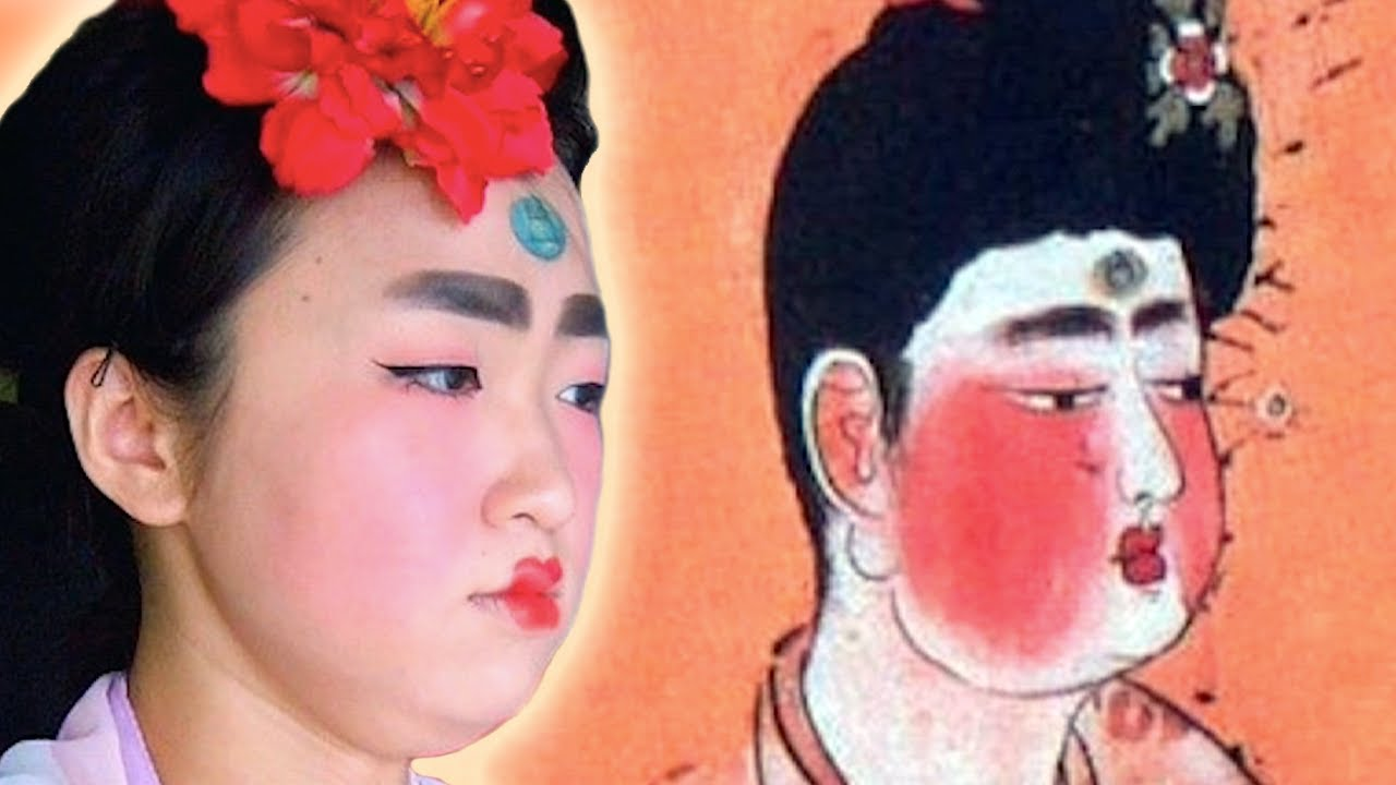 Tang Dynasty Vintage Make Up Youtube