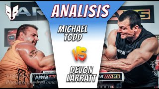 "🔥MICHAEL ""MONSTER"" TODD vs DEVON "" NO LIMITS"" LARRATT🔥 Armwrestling match / Vendetta Lucha de Brazos"