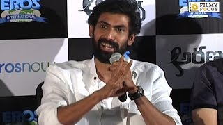 Rana Daggubati Hilarious Speech at Aranya Movie Teaser Launch