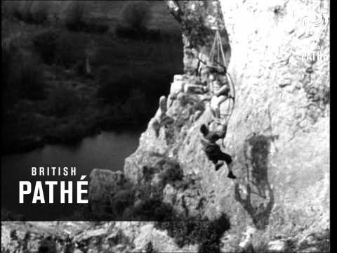 Mountain Rescue Team Training (1950)