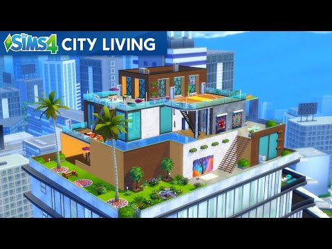The Sims 4 - BUYING A PENTHOUSE!! SIMS 4 City Living! (Sims 4, Episode 18)