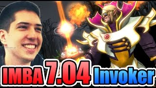 7.04 Invoker Has NOT Changed - W33 Dota 2