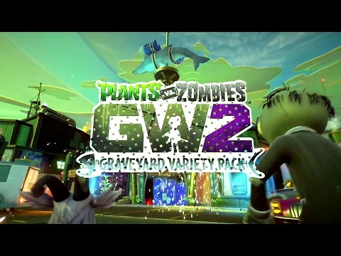 Plants vs. Zombies: Garden Warfare 2 - Aqua Center: NEW DLC MAP!