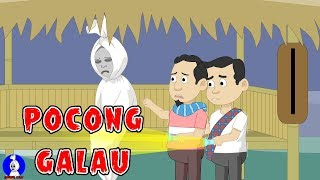 Pocong galau☠Pocong Sial☠Funny Cartoon☠Horor Lucu Episode 39
