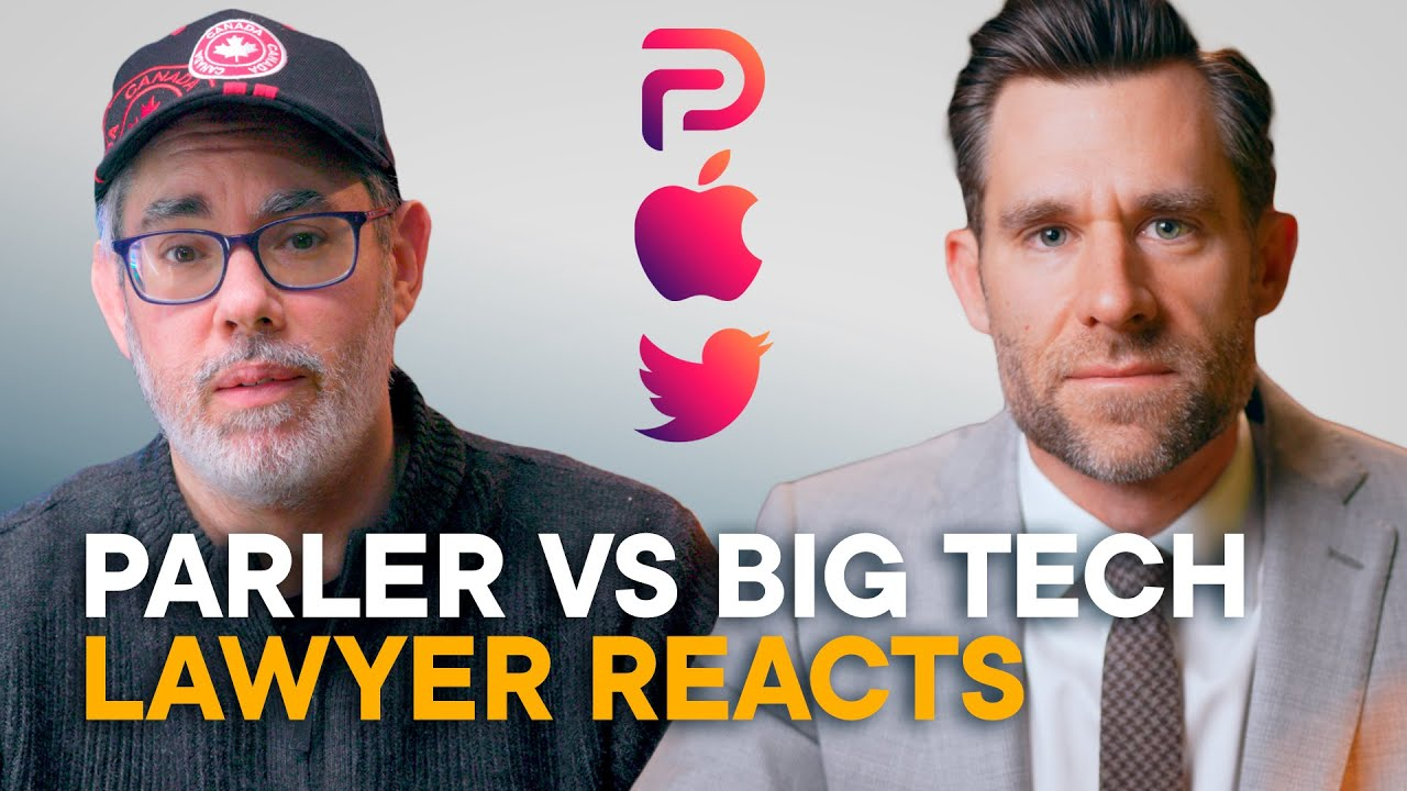 Download Parler vs. Apple & Twitter — Real Lawyer Reacts! (Feat. Legal Eagle)