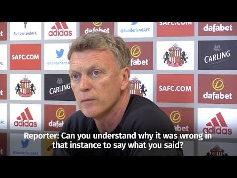 David Moyes 'Deeply Regrets' Threatening To Slap Female Reporter