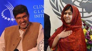 Malala Yousafzai, Kailash Satyarthi Awarded Nobel Peace Prize