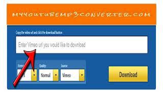 Vimeo to MP3 Converter