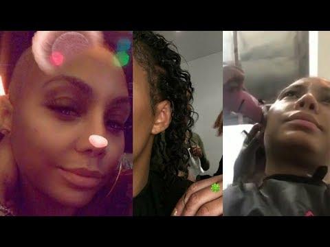 Tamar Braxton NO HAIR ! HILARIOUS response from her 4yr Old Son Logan!
