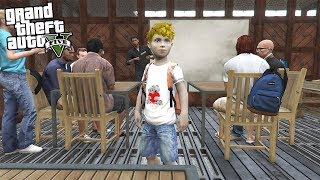 FIRST DAY OF SCHOOL AT AGE 10!!! (GTA 5 REAL LIFE PC MOD)