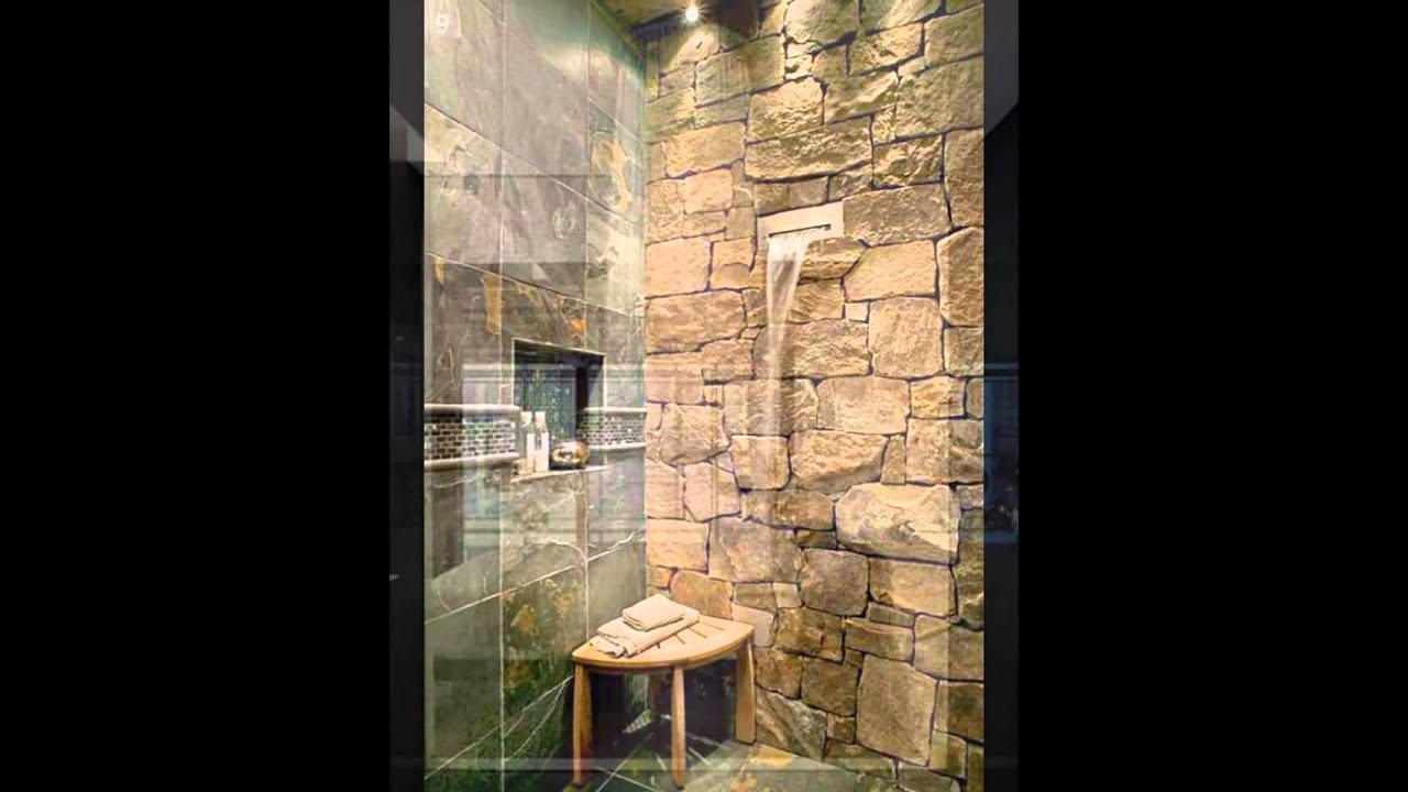 Waterfall Shower Design Idea   YouTube