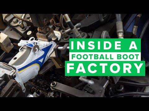 INSIDE A FOOTBALL BOOT FACTORY