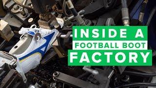 INSIDE A FOOTBALL BOOT FACTORY