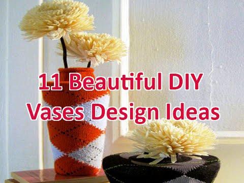 11 Beautiful DIY Vases Design Ideas   DecoNatic