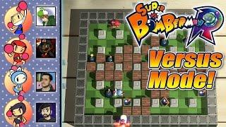 Super Bomberman R - Local Multiplayer with PKSparkxx, Antdude92, & Gillythekid!