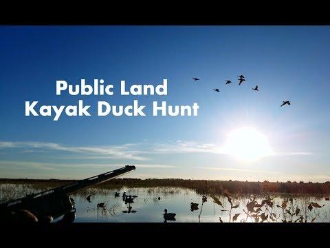 Kayak Duck Hunt on Public Land