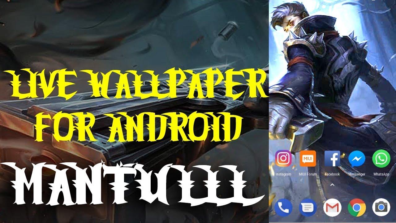 Live Wallpaper Hero Keren Granger Mobile Legend Bang Bang