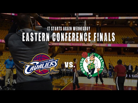 Hype video: Cavs vs. Celtics in the 2017 Eastern Conference Finals
