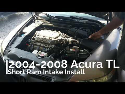 2004-2008 Acura TL intake install